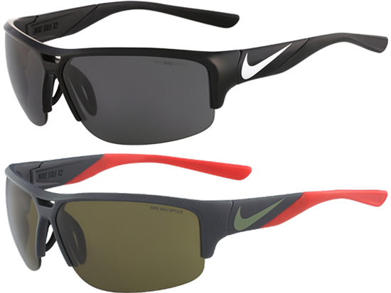 02f400a53a Nike Golf X2 Sport Sunglasses w  Gunmetal Flash Lens EV0870 402