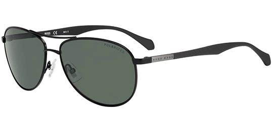 4e2388cd6ee Hugo Boss Polarized Men s Stainless Steel Aviator Sunglasses - 0824S ...