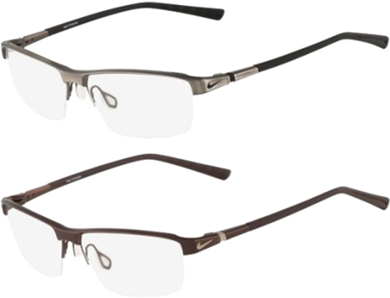 eab0643d2 Nike Optical Men's Titanium Eyeglasses Frames 6052 (002 / 067) | eBay
