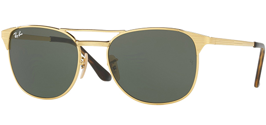Ray-Ban Signet Men's Gold Modern Pilot Sunglasses RB3429M 001 - Made In Italy 12