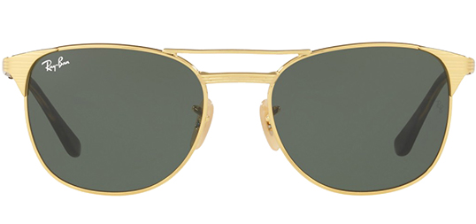 Ray-Ban Signet Men's Gold Modern Pilot Sunglasses RB3429M 001 - Made In Italy 6