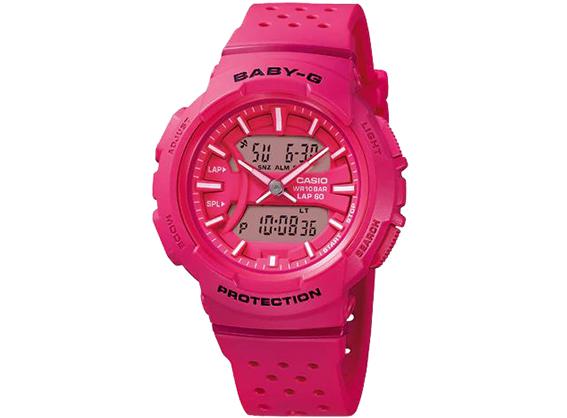 bc2d8622e Casio G-Shock Women's Analog and Digital Pink Resin Quartz Watch ...