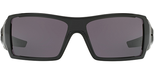 Oakley Oil Rig Men s Polished Black Sunglasses w  HD Optics - OO9081 03  46028 a5f4025133
