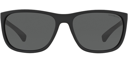 d6913bd9f498 Emporio Armani Men s Black Rubber Classic Sunglasses - EA4078 506387 ...