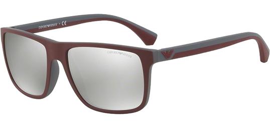d5a07cf86cfa Emporio Armani Men s Top Bordeaux Sunglasses w  Mirror Lens - EA4033 ...