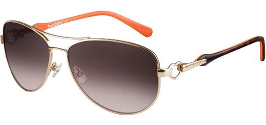 4334dade02 Juicy Couture Deco Women s Aviator Sunglasses w  Gradient Lens ...