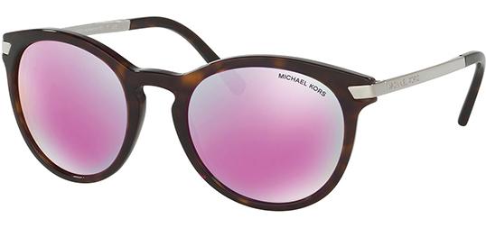 Details about Michael Kors Adrianna III Women's Sunglasses w Fuchsia Mirror MK2023 32214X